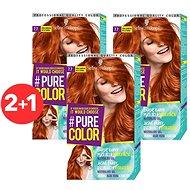 SCHWARZKOPF PURE COLOR 7.7 Zářivá skořicová 60 3× ml - Barva na vlasy