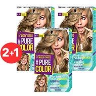 SCHWARZKOPF PURE COLOR 8.0 Pravá blond 3× 60 ml - Barva na vlasy