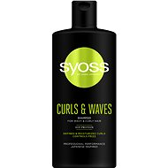 SYOSS Curls & Waves Shampoo 500 ml - Šampon