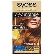 SYOSS Oleo Intense 8-60 Medově plavý 50 ml - Barva na vlasy