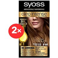 SYOSS Oleo Intense 8-60 Medově plavý 2× 50 ml
