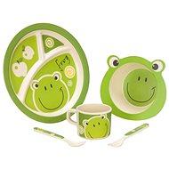 Vango Bamboo Kids Set Frog - Sada nádobí