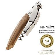 LigneW Prestige, dvoufázová vývrtka na víno, olivové dřevo - Otvírák