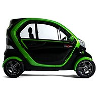 VXT 2 QUADRO Černo-zelená - Elektromobil