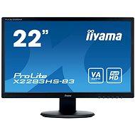 "21.5"" iiyama ProLite X2283HS-B3 - LCD monitor"