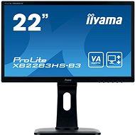 "21.5"" iiyama ProLite XB2283HS-B3 - LCD monitor"