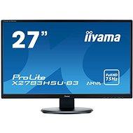 "27"" iiyama ProLite X2783HSU-B3 - LCD monitor"