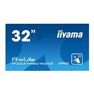 """32"""" iiyama ProLite TF3237MSC MultiTouch bílý - Velkoformátový displej"""