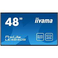 "48"" iiyama ProLite LE4840S-B1 - Velkoformátový displej"