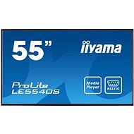 "55"" iiyama ProLite LE5540S-B1 - Velkoformátový displej"