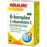B-Complex PLUS with Vitamin C, 30 Tablets - B Complex
