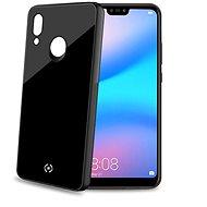 CELLY Diamond z tvrzeného skla a TPU pro Huawei P20 Lite černý