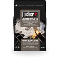 Weber podpalovací kostky bílé - Grilovací příslušenství
