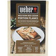 Weber udící prkénka z cedrového dřeva pro jednu porci - Grilovací příslušenství