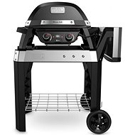 Weber PULSE 2000 Electric with Trolley, Black