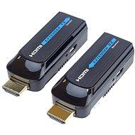 PremiumCord HDMI FULL HD extender na 50m přes jeden kabel Cat6 - Extender