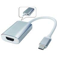 PremiumCord USB 3.1 na HDMI s hliníkovým pouzdrem - Redukce