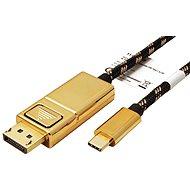 Roline GOLD Kabel USB C(M) -> DisplayPort(M), 4K@60Hz, 2m - Video kabel