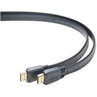 Video kabel PremiumCord HDMI High Speed propojovací 2m, plochý