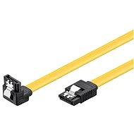 PremiumCord SATA III 90° 0.2m - Datový kabel