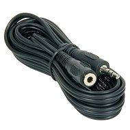 PremiumCord jack M 3.5 -> jack F 3.5, 10m - Audio kabel