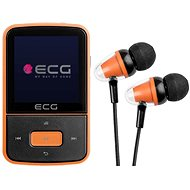 ECG PMP 30 8 GB Black&Orange - MP4 přehrávač