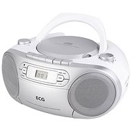 ECG CDR 888 USB stříbrné - Radiomagnetofon
