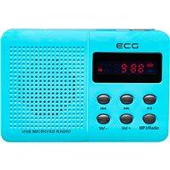 ECG R 155 U modré - Rádio