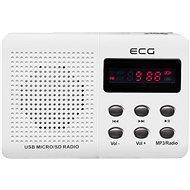 ECG R 155 U bílé - Rádio