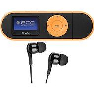 ECG PMP 20 4GB Black&Orange - MP3 přehrávač