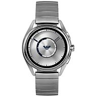 Emporio Armani Matteo Stainless Steel Silver - Chytré hodinky