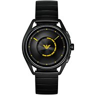 Emporio Armani Matteo Stainless Steel Black - Chytré hodinky