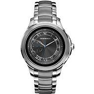 Emporio Armani Alberto Stainless Steel Silver - Chytré hodinky
