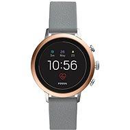 Fossil Venture HR Gray Silicone - Chytré hodinky