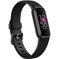 Fitbit Luxe - Black/Graphite Stainless Steel - Fitness náramek