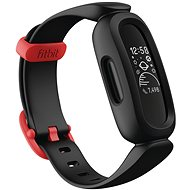 Fitbit Ace 3 Black/Racer Red - Fitness náramek