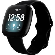 Fitbit Versa 3 - Black/Black Aluminum - Chytré hodinky