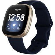 Fitbit Versa 3 - Midnight/Soft Gold Aluminum - Chytré hodinky
