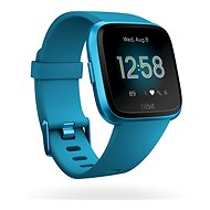 Fitbit Versa Lite - Marina Blue/Marina Blue Aluminum - Chytré hodinky