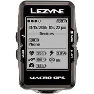 Lezyne Macro GPS Black - Cyklocomputer