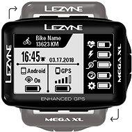 Lezyne Mega XL GPS Black - Cyklocomputer