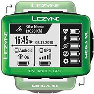 Lezyne Mega XL GPS Green - Bike Computer
