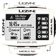 Lezyne Mega XL GPS White - Bike Computer