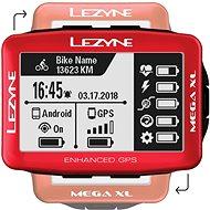 Lezyne Mega XL GPS Red - Bike Computer