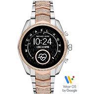 Michael Kors Gen5 Bradshaw Pavé RoseGold/Silver Nerezová ocel - Chytré hodinky