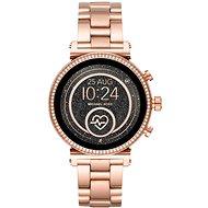 Michael Kors Sofie Heart Rate Rose Gold-Tone  - Chytré hodinky