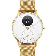 Withings Steel HR (36mm) LIMITED EDITION - Champagne Gold / White  - Chytré hodinky