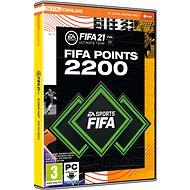 FIFA 21 - 2200 FUT POINTS - Herní doplněk