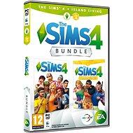 The Sims 4: Život na ostrově (Plná hra + rozšíření) - Hra pro PC