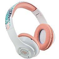 Gogen HBTM 42 STREET G bílo-růžová - Sluchátka s mikrofonem